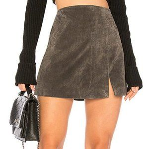 Blank NYC leather skirt size 29